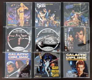 Star Wars RARE Radio Show Sets on 9 different CD's MUST SEE (make offer) for Sale in Las Vegas, NV