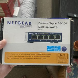 NetGear Ethernet Desktop Switch for Sale in Fort Myers, FL