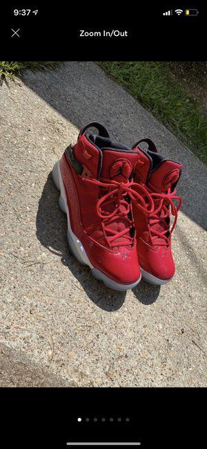 Jordan 6 Rings Gym Red for Sale in Baytown, TX