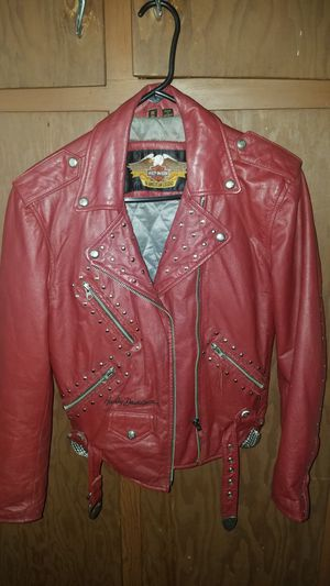 red harley coat for Sale in Trimble, MO