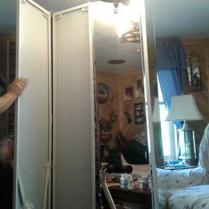 Closet mirrored doors for Sale in Dexter, ME