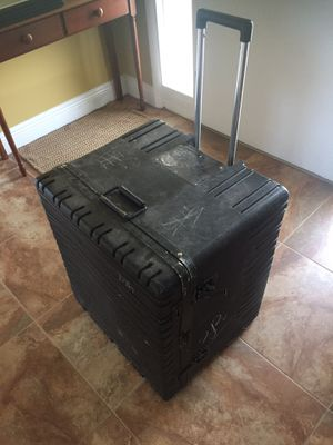 Black heavy duty Pelican storage case for Sale in Merritt Island, FL