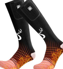 SNOW DEER 2020 Upgraded Rechargeable Electric Heated Socks,7.4V 2200mAh Battery for Sale in Los Angeles,  CA