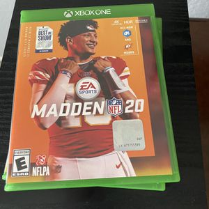 Madden 20 Xbox One for Sale in Holiday, FL