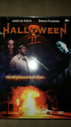 John Carpenters Halloween 2 Michael Myers DVD Disk 📀 for Sale in Chicago, IL