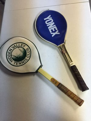 Two Antique Tennis Rackets for Sale in Pittsburgh, PA