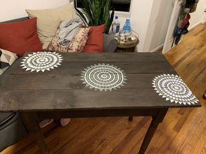 Moroccan style hand painted table for Sale in New York, NY