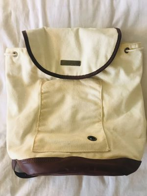 Urban Outfitters Canvas backpack with leather trim for Sale in San Jose, CA