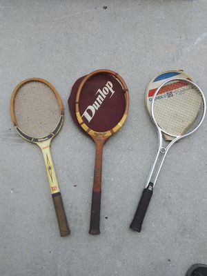 Vintage Tennis Rackets for Sale in Oakland Park, FL