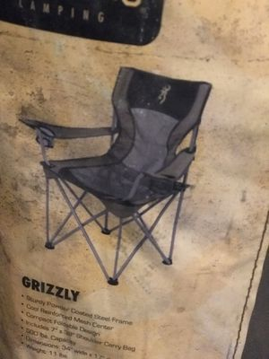 Browning Grizzly Camp Chair for Sale in Bozeman, MT