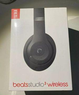 Beats Studio 3 Wireless Headphones Black for Sale in Stockton, CA