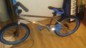 Gorgeous CHROME custom made BMX bike for Sale in Seattle, WA