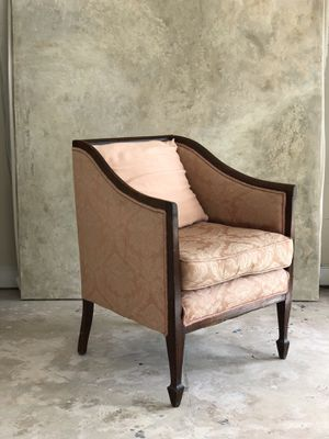 Antique Inlaid Club Chair for Sale in Riviera Beach, FL