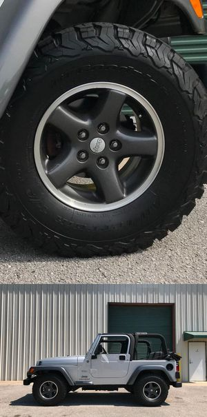 Price$12OO JEEP Wrangler perfect condition for Sale in Frederick, MD