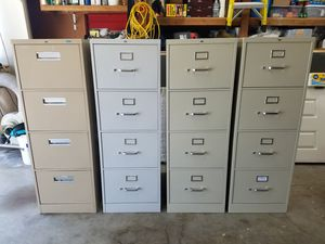 File Cabinet - 4 Available, 4 Drawer, Legal Size for Sale in Martinez, CA