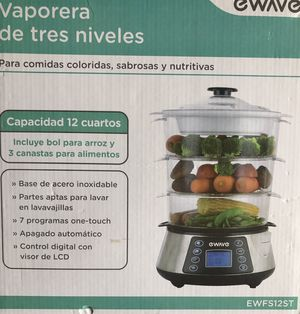 NEW 3 Layer Food Steamer for Sale in Morrice, MI