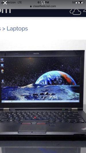 I would like to buy your IBM Lenovo thinkpod T430 laptop Lenovo ibm i7 3530M 330 HD 8 men win 10 pro office 2016 for Sale in Millcreek, UT