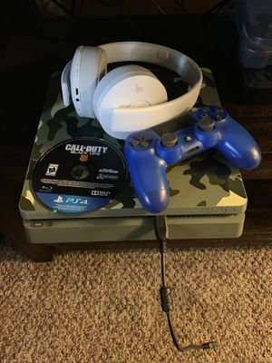 PS4 with headset, controller, and game. for Sale in Neosho, MO