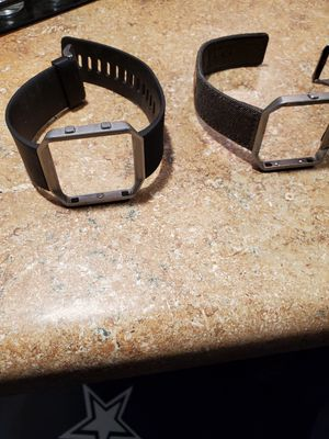 Fitbit Blaze bands $15 for both for Sale in Tooele, UT