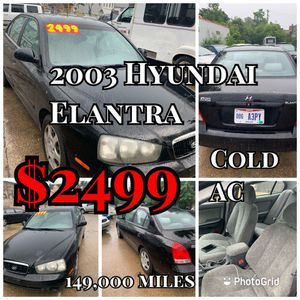 2003 Hyundai Elantra 149,000 miles(cold ac) for Sale in Cleveland , OH