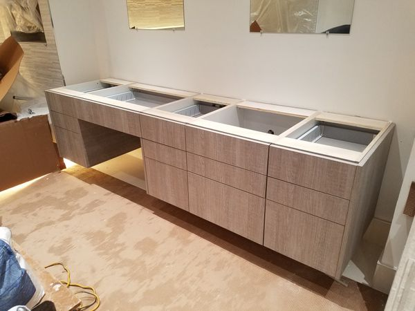 Kitchen & Bath cabinets.