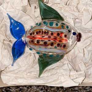 Glass Fish Ornament for Sale in Laurel, MD