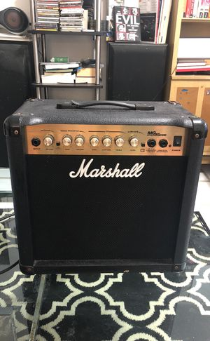 Marshall mg 15CDR Detar amplifier in perfect condition !!! for Sale in Miami, FL