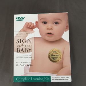 Sign with Your Baby: How to Communicate with Infants Before They Can Speak (Book, Quick Reference Guide & DVD) Deluxe Edition Dr. Joseph Garcia for Sale in Tacoma, WA