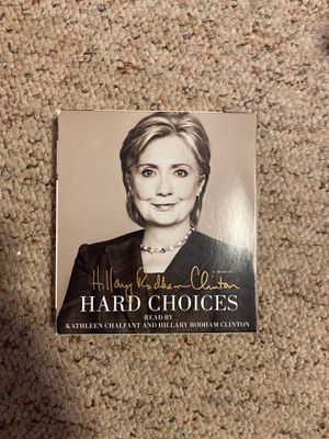 Hillary Clinton's book Hard Choices (AUDIOBOOK) for Sale in Burlington, CT