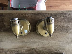 Set of 2 pendant lamps for Sale in Columbus, OH