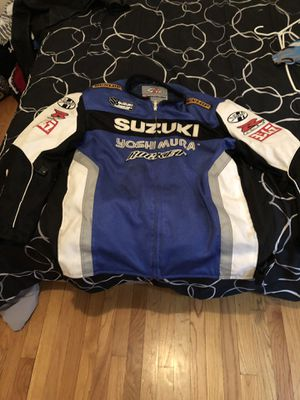 SUZUKI GSXR Motorcycle Jacket for Sale in Riverside, IL