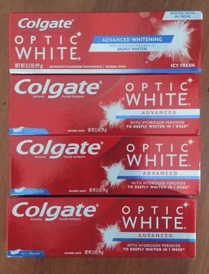 Colgate optic white toothpaste $3 for Sale in San Jose, CA