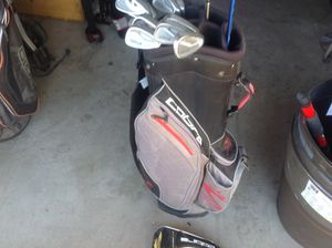 King Cobra Irons, Driver and Cart Bag for Sale in Henderson, NV