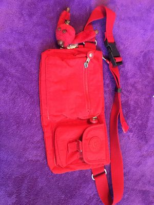 Kipling waist bag red color for sale for Sale in Richmond, CA
