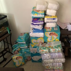 Baby diapers 0 /1/2/ for Sale in Los Angeles, CA