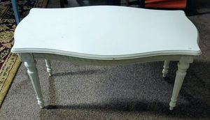 White Soild Wood Coffee Table for Sale in Burlington, NC