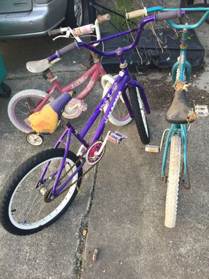 Tres Bicycles for Sale in Edgewood, WA