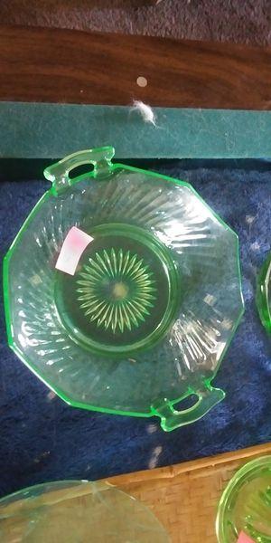 Green depression glass for Sale in Delta, CO