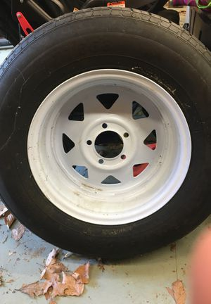 Trailer tire for Sale in Sunderland, MD