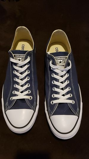Converse All Stars Navy Blue 10.5 for Sale in Peoria, AZ
