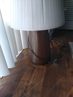 Larger brown lamp for Sale in Stockton, CA
