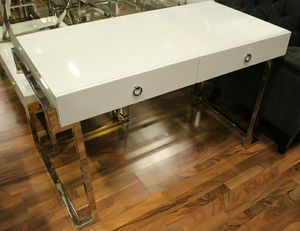 BA213 Computer Desk (Gold or Silver plated) for Sale in US