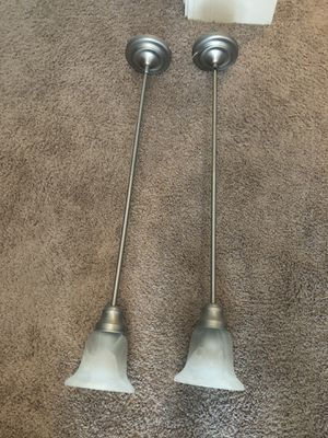 Dual pendant kitchen/island bar lights. 36 inches. for Sale in Raleigh, NC