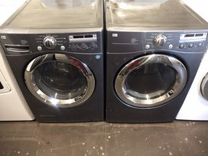 LG FrontLoad Washer Dryer Set for Sale in Lexington, NC