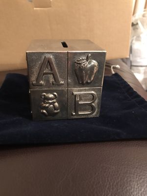 Silver coin bank for Sale in East Brunswick, NJ