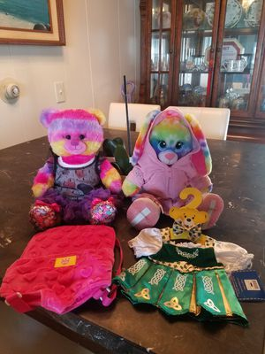 2 Build a Bear with outfits for Sale in Auburn, WA