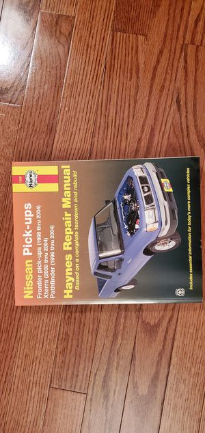 Haynes Nissan Repair Manual for Sale in Atlanta, GA