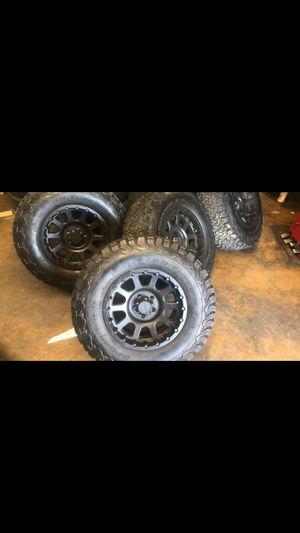 2857017 At BF GOODRICH rines y llantas para Jeep monkey wheels and tires for Sale in Phoenix, AZ