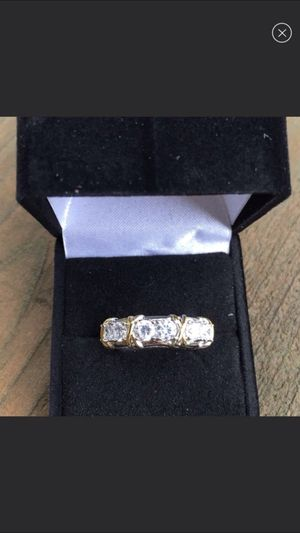 Size 7/8/9 available 10k gold wedding ring for Sale in Cumming, GA