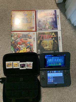 Nintendo 3DS XL & 4 games for Sale in Sumner, WA